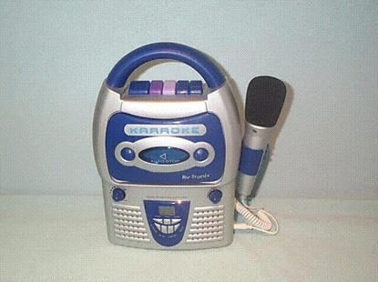 Picture of Recalled Cassette Player/Recorder
