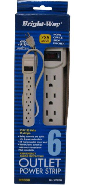 Picture of Recalled Power Strip