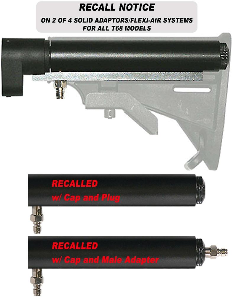 Picture of Recalled Picture of Recalled Paintball Gun Remote Line Adapter