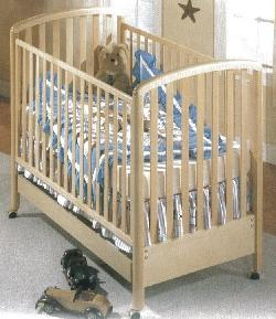 Click For Larger Image of Recalled Nico Model Number 630 Crib