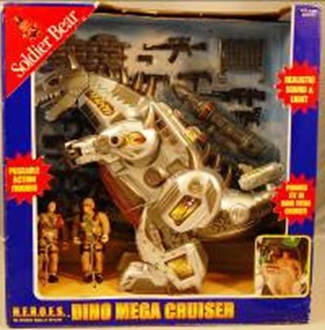 Picture of Recalled Soldier Bear Dino Mega Cruiser Toy Set