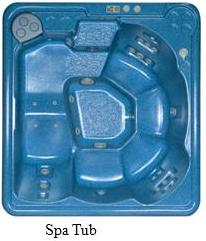 Picture of Recalled Serenity Hot Tub