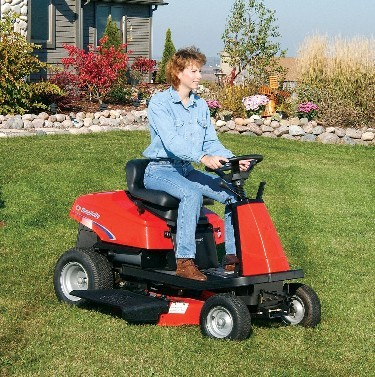 Picture of Recalled Coronet Riding Lawn Mower