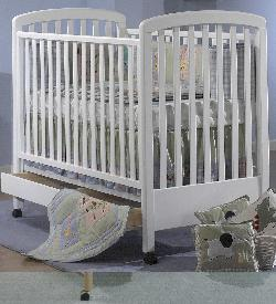 Click For Larger Image of Recalled Lana Model Number 240 Crib