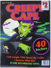 Picture of Recalled Creepy Cape Halloween Costume Package
