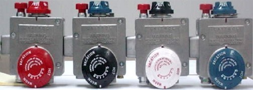 Picture of Recalled Gas Control Valves on Water Heaters