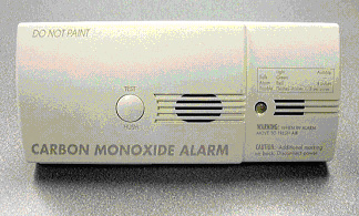 Picture of recalled alarm