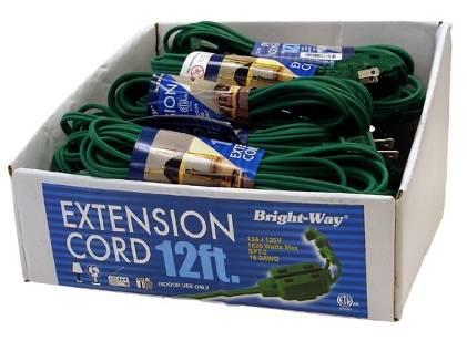 Picture of Recalled 12 ft. Extension Cords