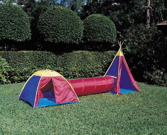 Picture of recalled tent set