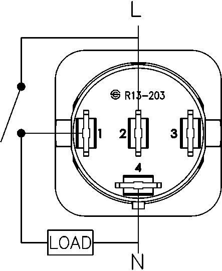 Radio Shack Rocker Switch Wiring Diagram - Electrical Drawing Wiring ...