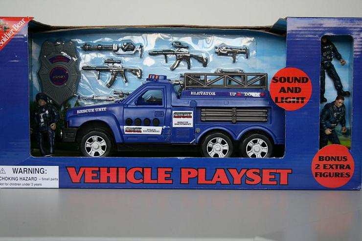 Picture of Recalled Vehicle Playset