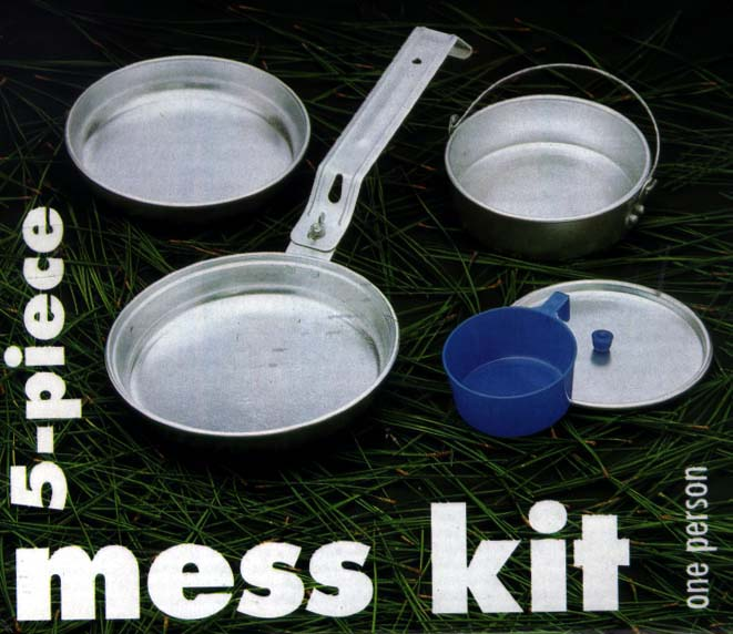 Picture of Camp Mess Kit