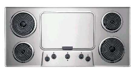 Picture of recalled Electric Cook Tops