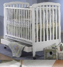 Click For Larger Image of Recalled Rita; Model Number 490 Crib - Manufactured between 2001 and October 2007