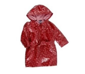 Pumpkin Patch Recalls Hooded Girls&39 Raincoats with Drawstrings Due