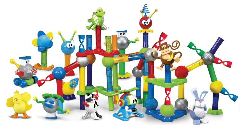 Picture of Recalled  Magtastik and Magnetix Jr. Pre-school Magnetic Toys