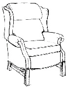 Picture of Recalled High-Leg Recliner Chair