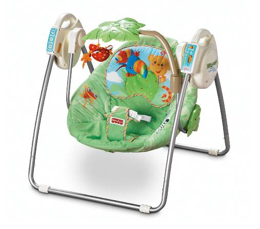 Fisher Price Rainforest Infant Swings Recalled Due To Entrapment