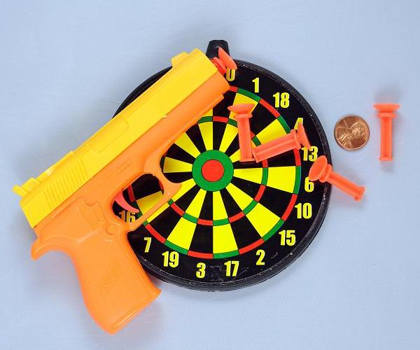 Picture of recalled toy dart gun target
