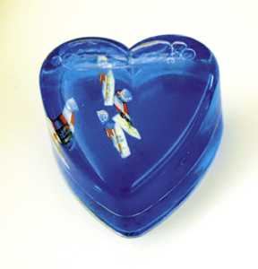 Picture of Recalled Heart Paperweight