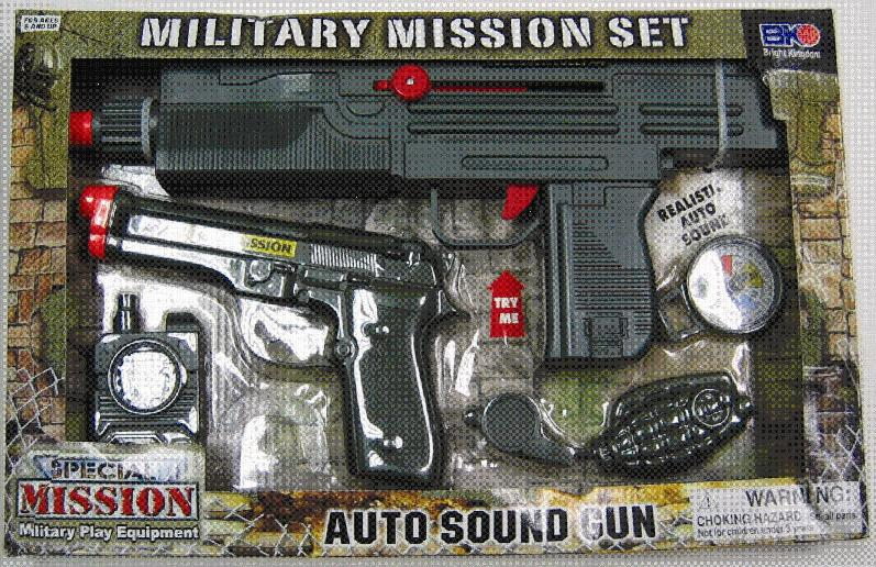 Picture of Recalled Special Forces Weapons and Accessories Military Missions Set