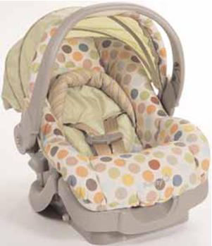 Picture of Recalled Infant Car Seat/Carrier