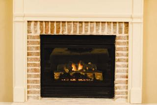 picture of recalled decorative fireplace - Decorative Fireplace