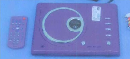 Picture of Recalled DVD Player in Purple