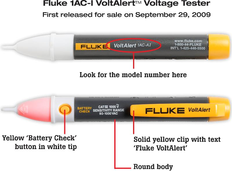Picture of Recalled Electrical Tester