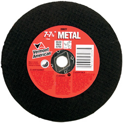 Picture of abrasive cut-off wheel