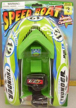 Picture of Recalled Toy Speed Boat