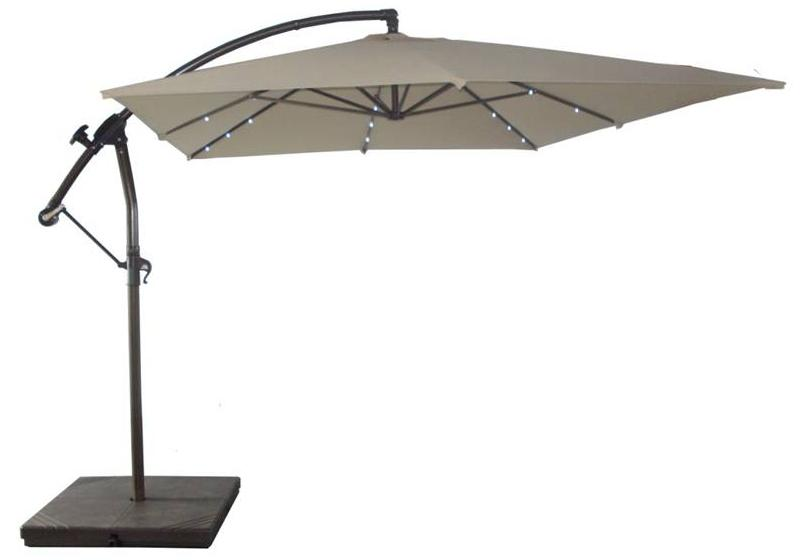 Recalled Solar Umbrella