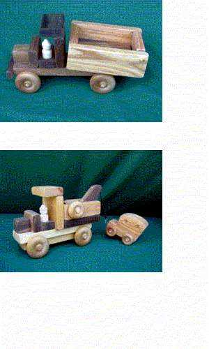 Picture of recalled Toy Trucks