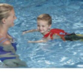 Picture of Child Using Recalled Swim Trainer