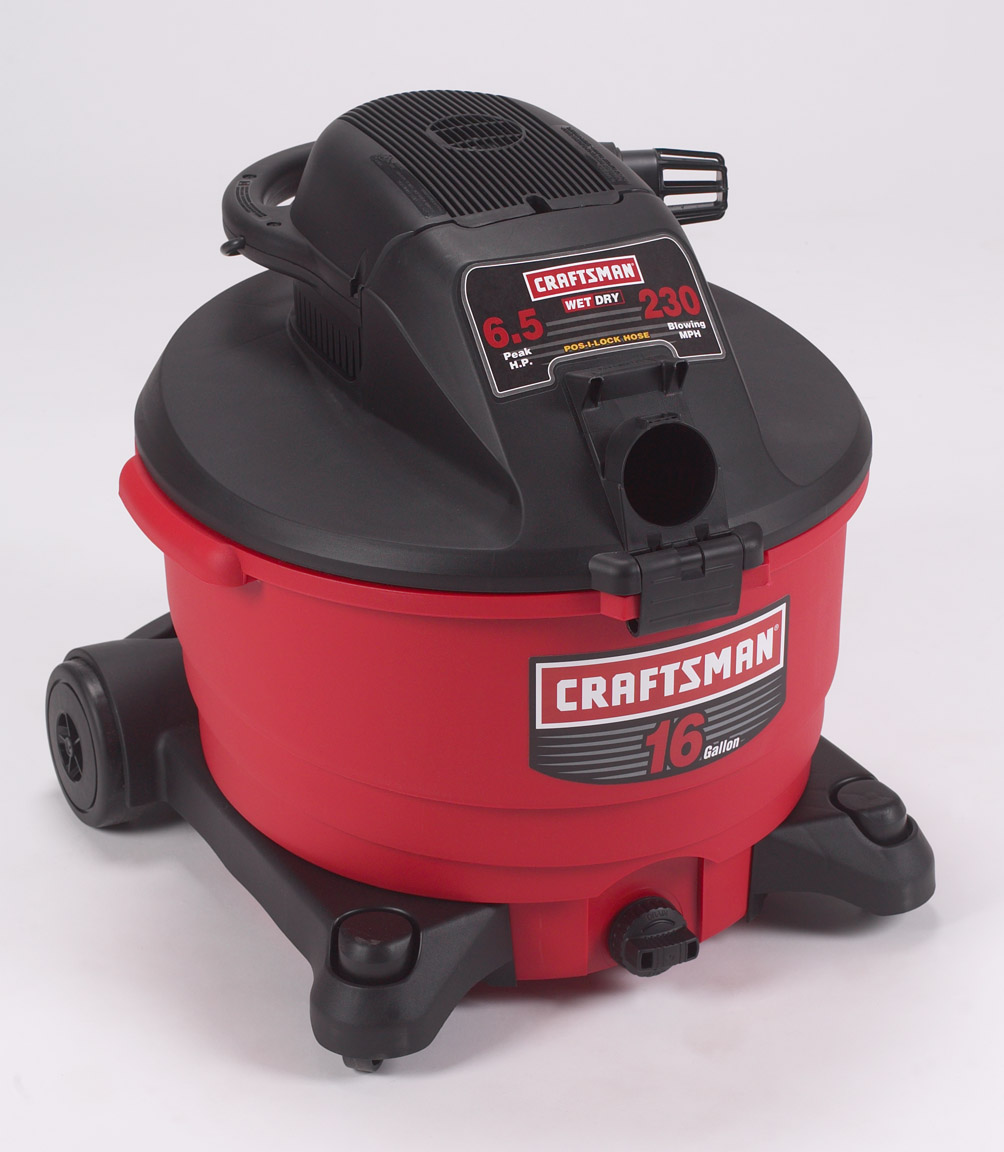 Picture of Recalled Wet/Dry Vacuum