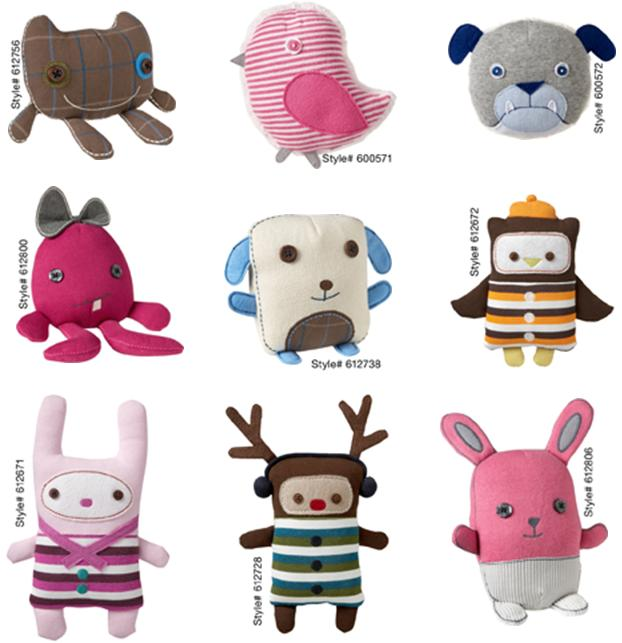 Picture of Recalled Stuffed Animal and Creature Toys