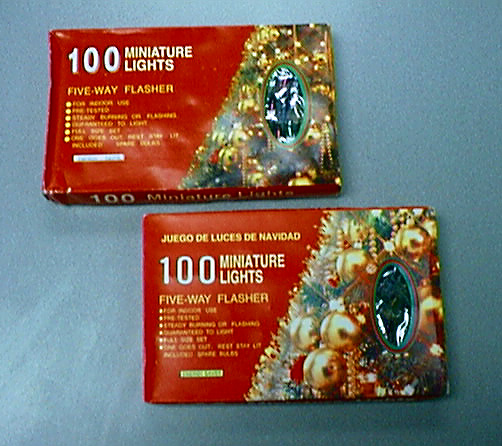 picture of recalled christmas lights