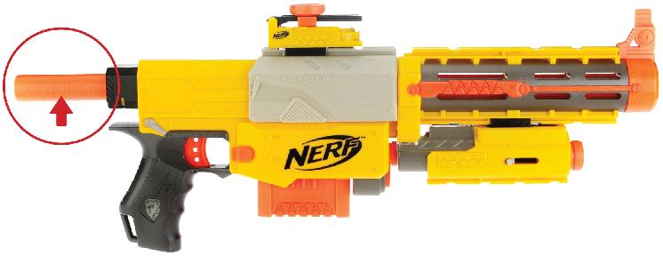 Picture of Recalled Nerf Blaster