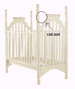 Picture of Recalled Betsy Crib