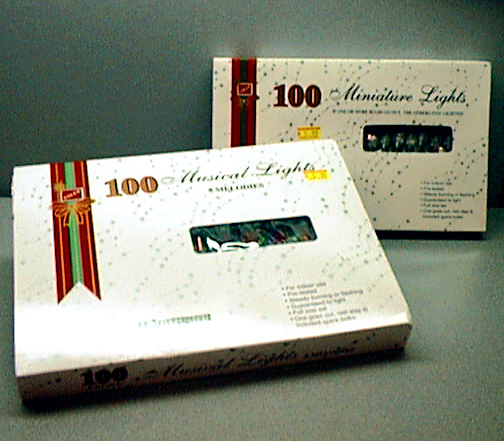 Picture of Musical and Miniature Christmas Lights