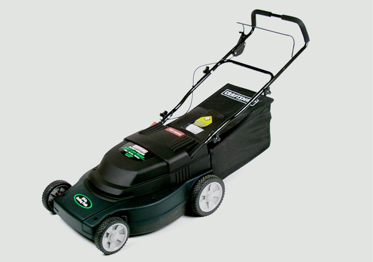 Picture of Recalled Craftsman Cordless Electric Lawnmower