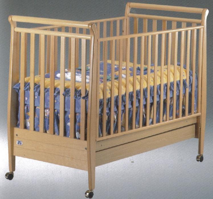 click for larger image of recalled amelia model number 185 crib - Sorelle Cribs