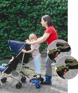 Picture of Recalled stroller attachment