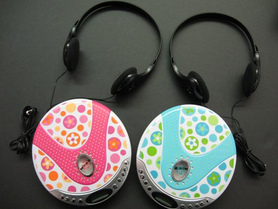 Picture of Recalled Children's Ball and Heart Necklaces, Portable CD and MP3 Player