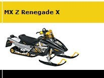 Picture of Recalled Mach Z Renegade X Snowmobile