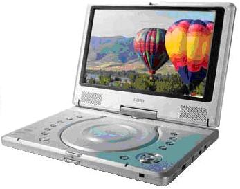 Picture of TF-DVD 1020 Portable DVD/CD/MP3 Player