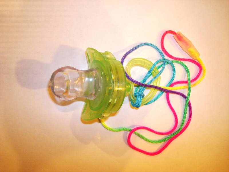 Picture of Recalled Flashing Pacifiers