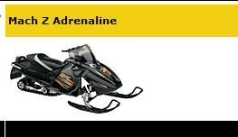 Picture of Recalled Mach Z Adrenaline Snowmobile