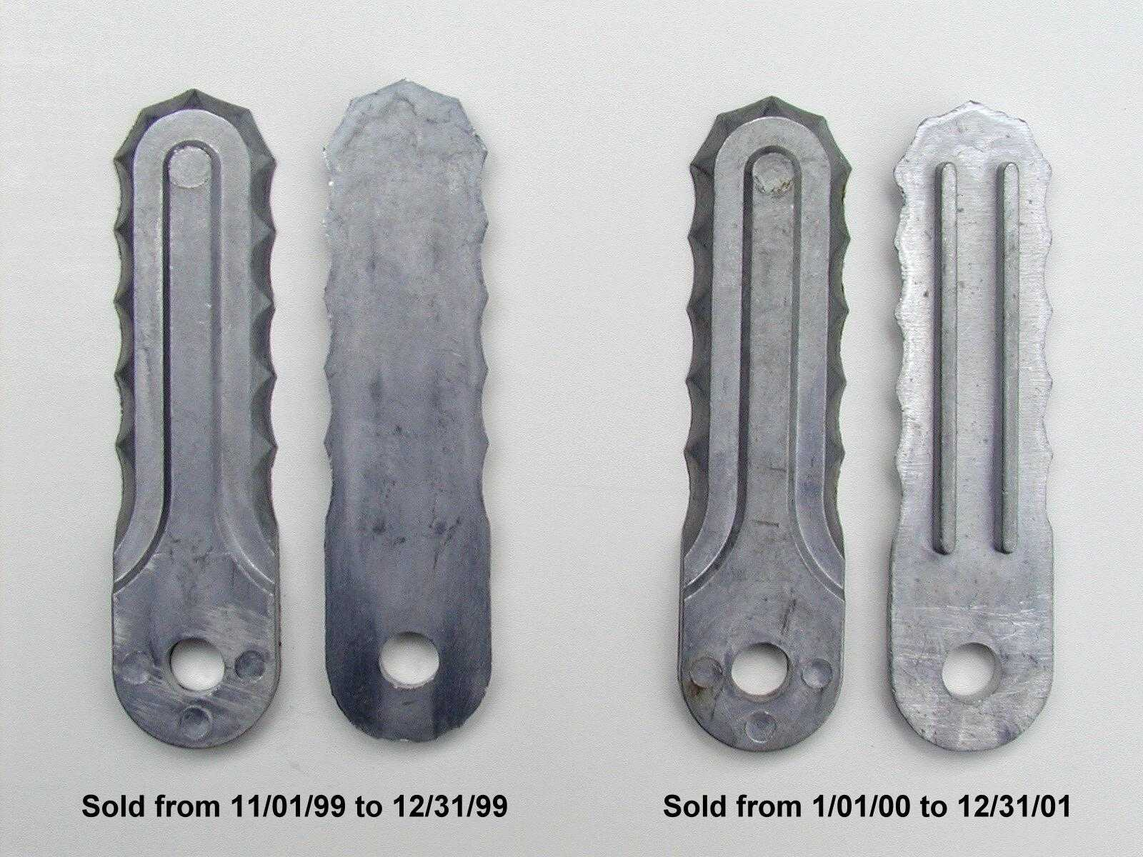 Picture of Recalled Weed Cutting Attachment Blades