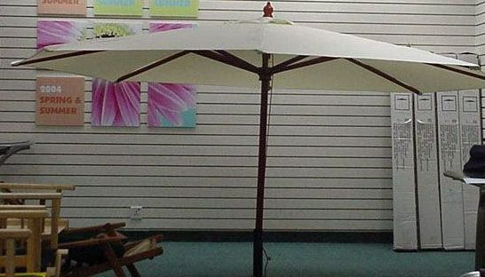 Picture of Recalled Patio Umbrellas